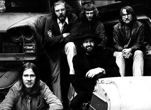 Floh de Cologne im Jahr 1969: v.l. Gerd Wollschon, Hansi Frank, Markus Schmid, Dick Städtler, Dieter Klemm