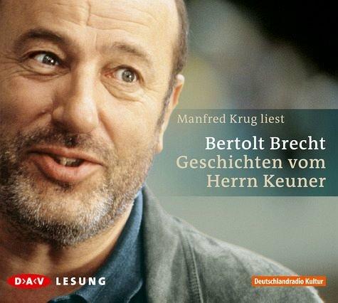 Manfred Krug Geschichten Vom Herrn Keuner Berthold Brecht 2005