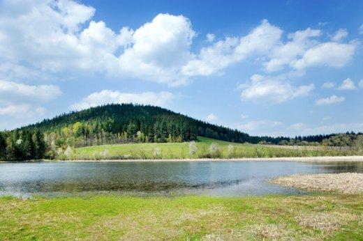 prirodni reservace Maly Blanik - Podlesi, Bykovicky rybnik, Poblanicko, Ceska republika