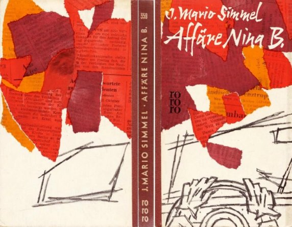 rororo 359 1960/05 Johannes Mariio Simmel - Affäire Nina B. - Oesterreich