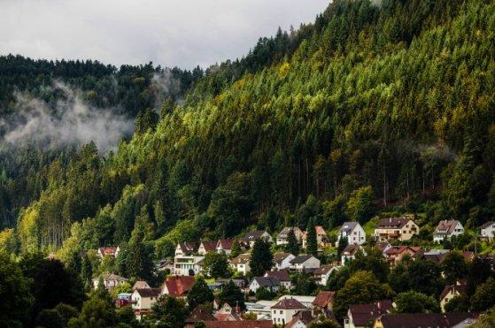 German village in Schwarzwald