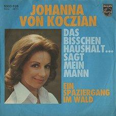 Johanna Von Koczian Das Bisschen Haushalt Sagt Mein Mann Ein