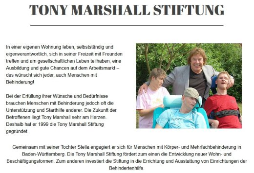 TonyMarshallStiftung