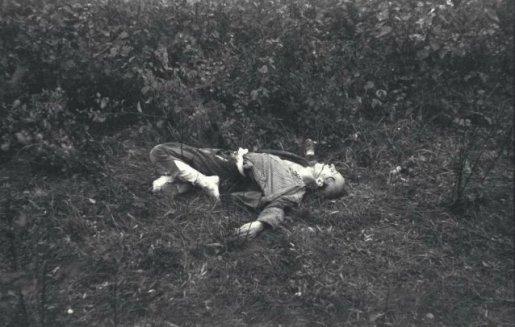 KZ Mauthausen, Erschossener Häftling
