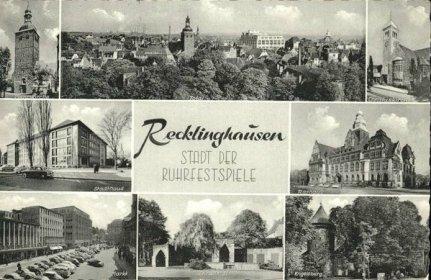 Postkarte Ruhrfestspiele