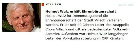 helmut wulz 2012