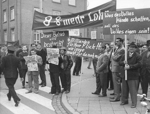 Streik 1963