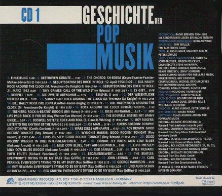 Geschichte Der Pop Musik CD 01BackCover1