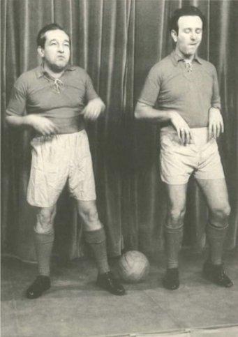 Gerhard Bronner und Peter Wehle, 1957