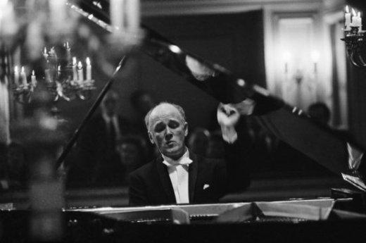 Soviet pianist Sviatoslav Richter