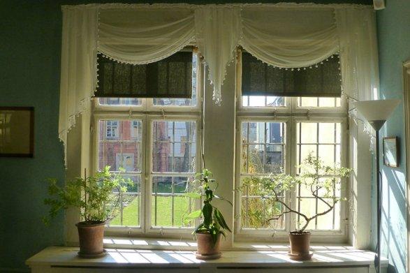 Fenster im Goethehaus