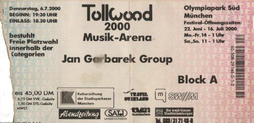 JanGarbarekGroupJuli2000