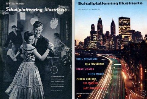 Schallplattenring Illustrierte