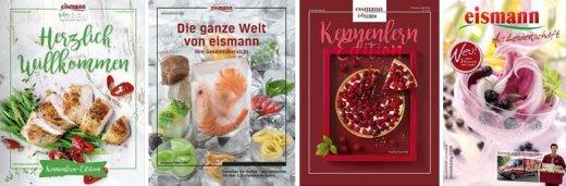 Diverse Eismann Kataloge