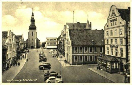 Postkarte Insterburg
