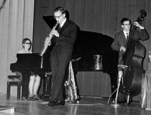 Ir?ne Schweizer-Trio 1964   (Photo by Blick/RDB/ullstein bild via Getty Images)